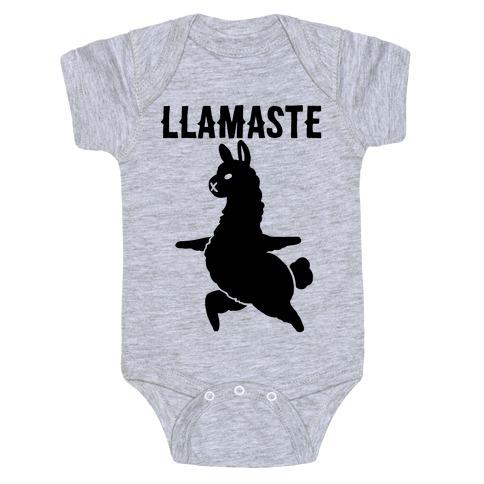 Llamaste Yoga Llama Baby Onesy