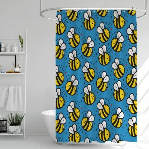 Bee Booties Shower Curtain