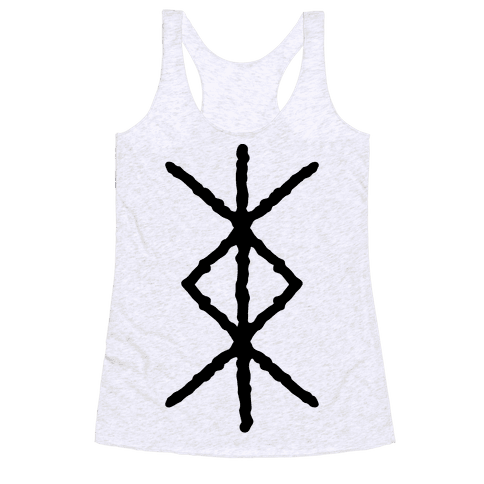 Protection Rune Racerback Tank Top