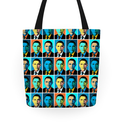 Pop Art Obama Tote