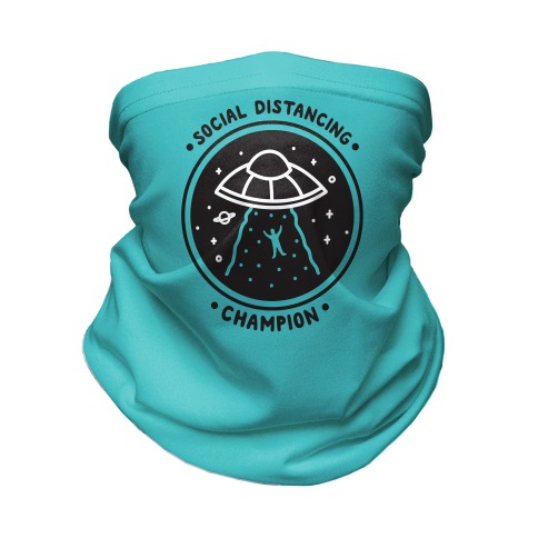 Social Distancing Champion UFO Neck Gaiter