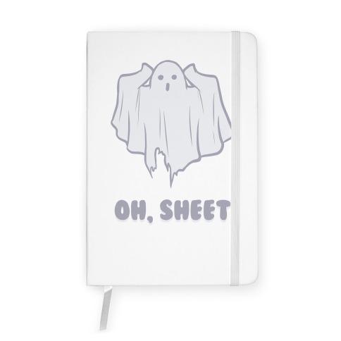 Oh, Sheet Notebook