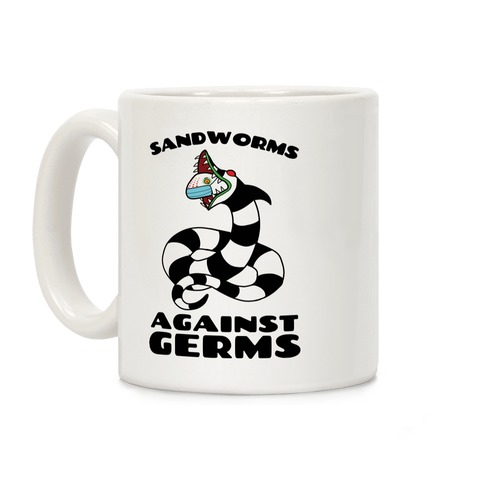 Sandworms Against Germs Coffee Mug