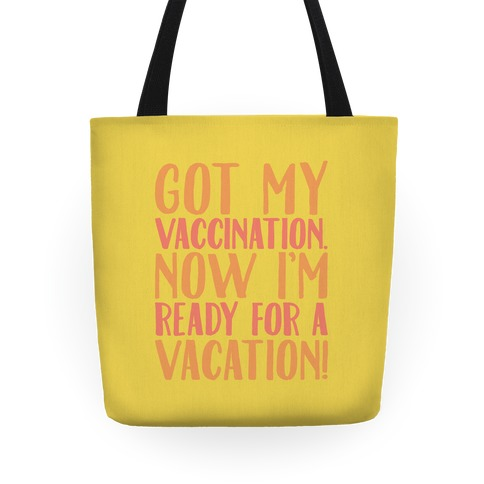 Vaccination Vacation Tote