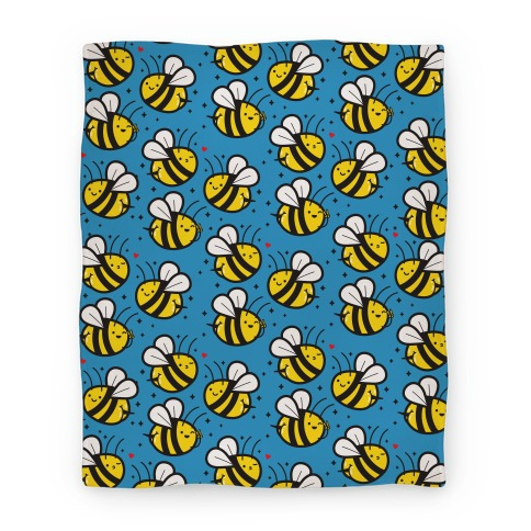 Bee Booties Blanket