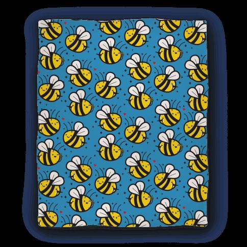 Bee Booties Blanket