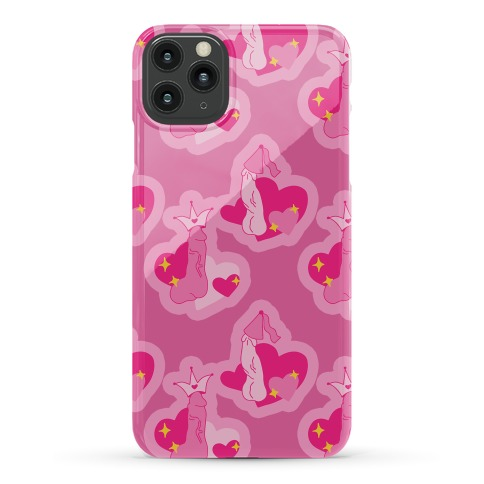 Princess Penis Pattern Phone Case