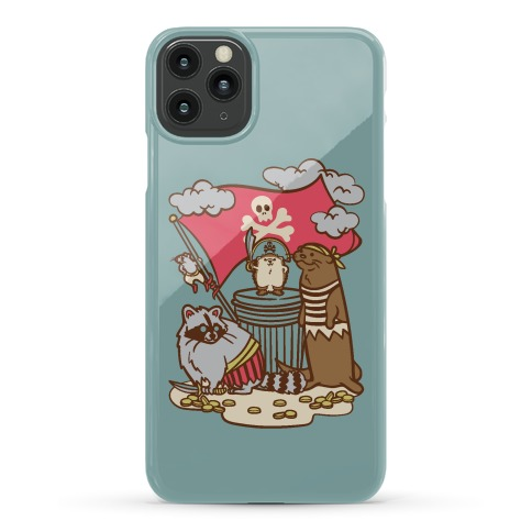 Captain Hedgie's Salty Crew Phone Case