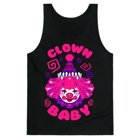 Clown Baby Tank Top