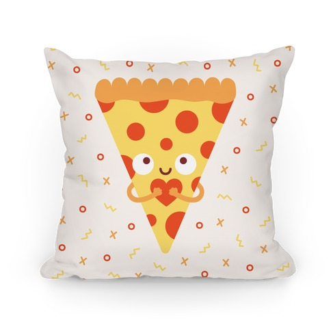 Pizza My Heart Pillow