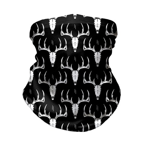 Deer Skull Pattern Neck Gaiter