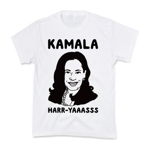 Kamala Harr-Yaaasss Kids T-Shirt