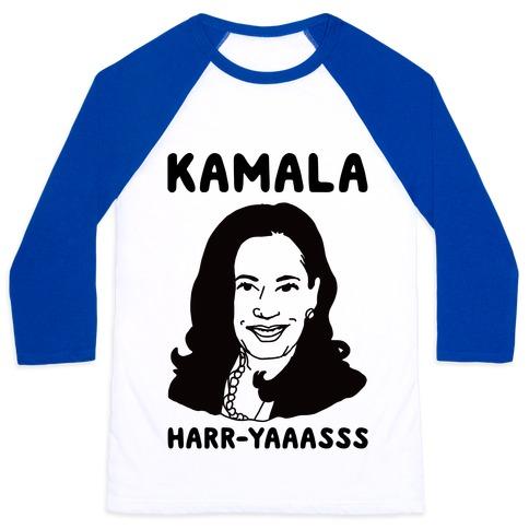 Kamala Harr-Yaaasss Baseball Tee