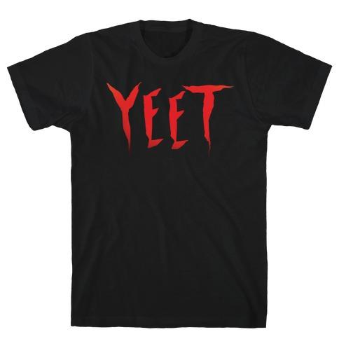 Yeet It Parody White Print T-Shirt