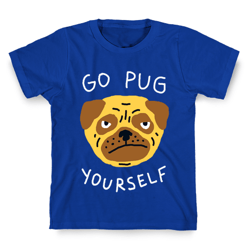 Go Pug Yourself Dog Kids T-Shirt