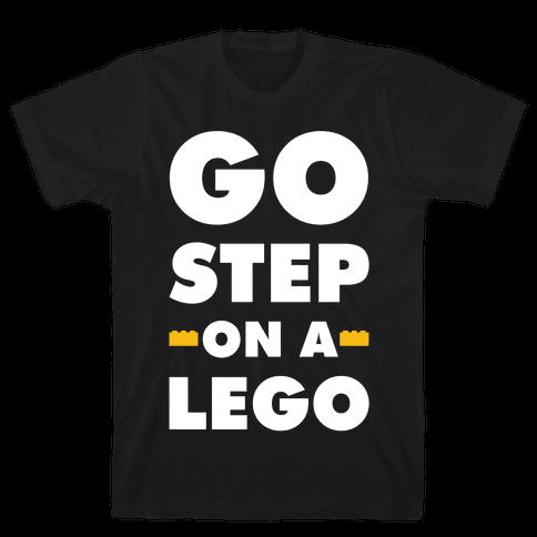 Go Step On A Lego Mens T-Shirt