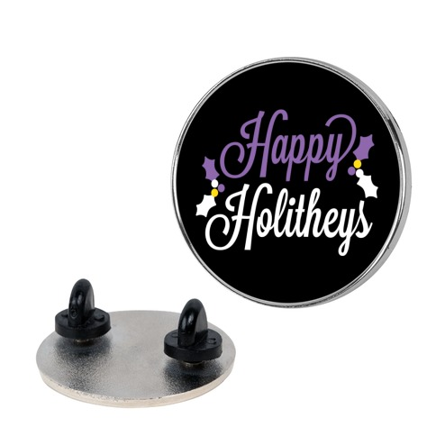 Happy Holitheys! Non-binary Holiday Pin