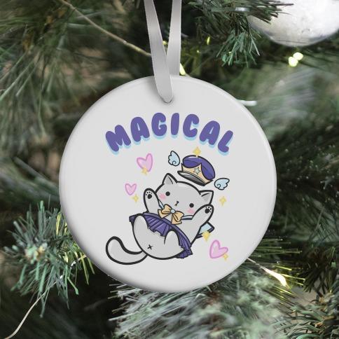 Magical Cat Ornament