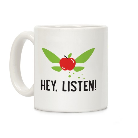 Hey, Listen! Teacher Navi Coffee Mug