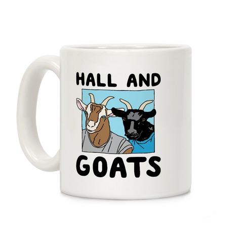 Hall And Goats Parody Coffee Mug