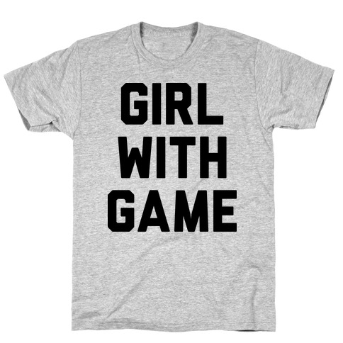 Girl With Game T-Shirt