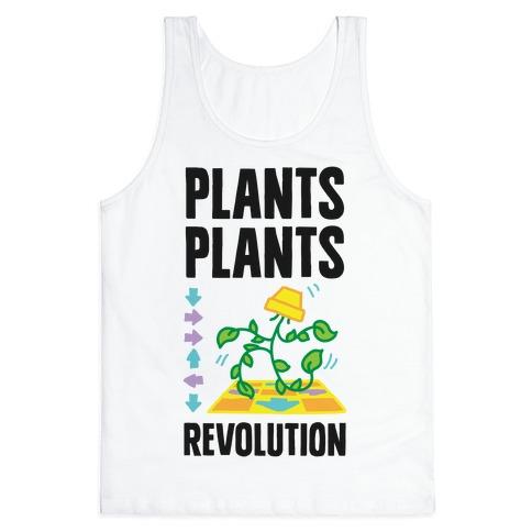Plants Plants Revolution Tank Top
