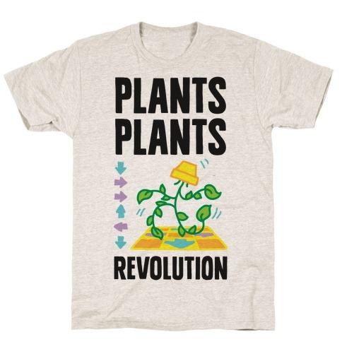 Plants Plants Revolution T-Shirt