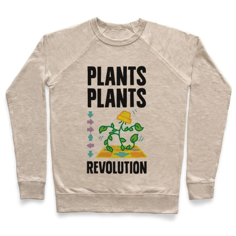 Plants Plants Revolution Pullover