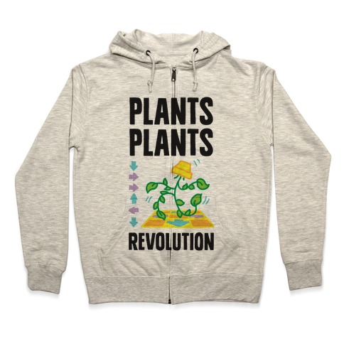 Plants Plants Revolution Zip Hoodie