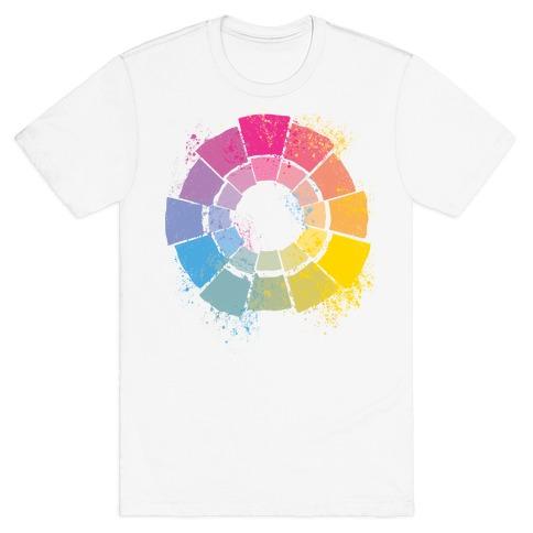 Pan Pride Color Wheel T-Shirt