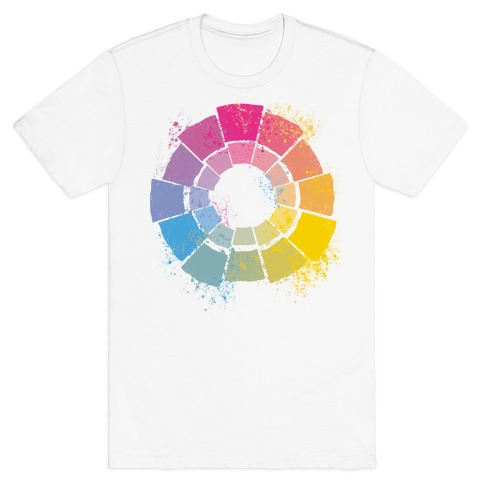 Pan Pride Color Wheel T-Shirt