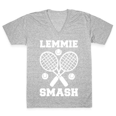 Lemmie Smash - Tennis V-Neck Tee Shirt