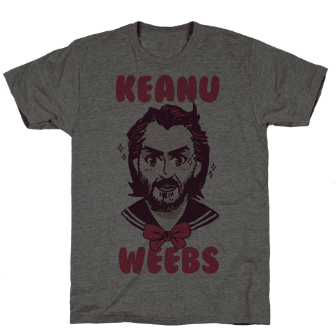 Keanu Weebs Mens/Unisex T-Shirt