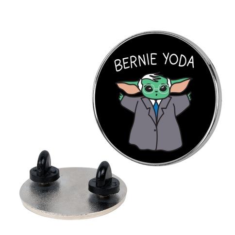 Bernie Yoda Pin