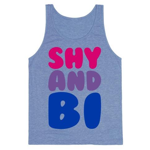 Shy And Bi Tank Top