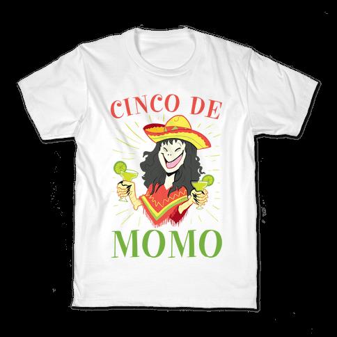 Cinco De Momo Kids T-Shirt