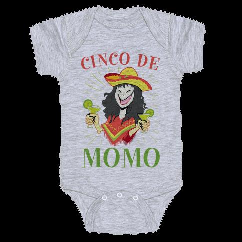 Cinco De Momo Baby Onesy