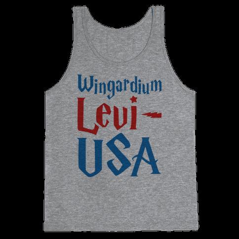 Wingardium Levi-USA Tank Top