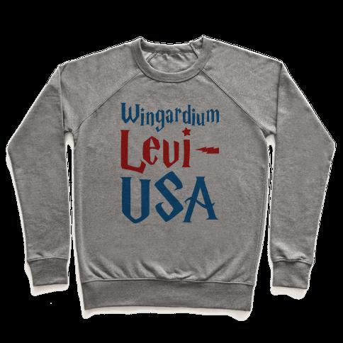 Wingardium Levi-USA Pullover