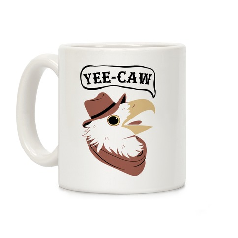YEE-CAW Bald Eagle Coffee Mug