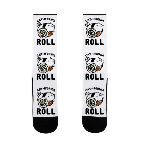 California Cat Roll Sock