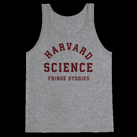 Harvard Fringe Parody Tank Top