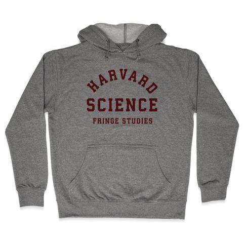 Harvard Fringe Parody Hooded Sweatshirt