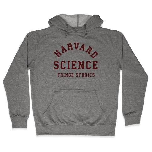 Harvard Fringe Parody Hooded Sweatshirt