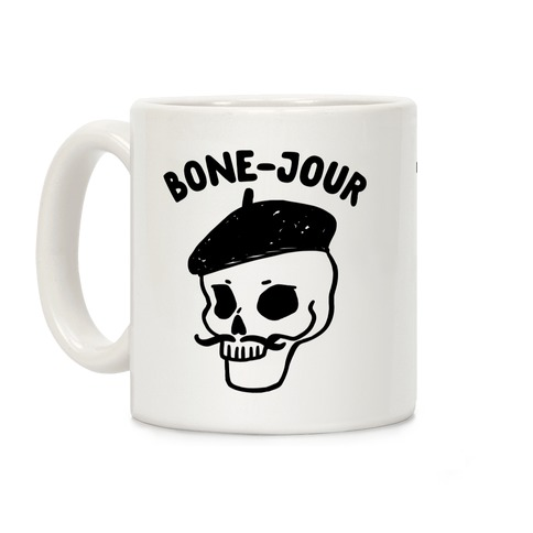 Bone-Jour Coffee Mug