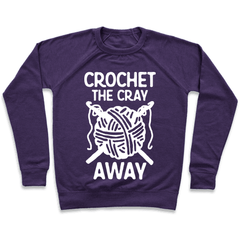 Crochet The Cray Away Pullover