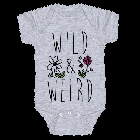 Wild & Weird  Baby Onesy