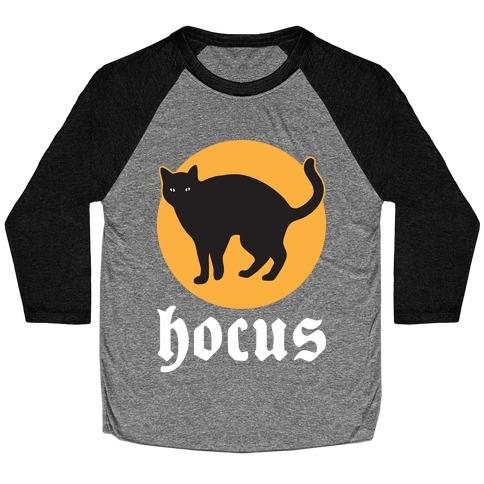 Hocus (Hocus Pocus Pair) - White Baseball Tee