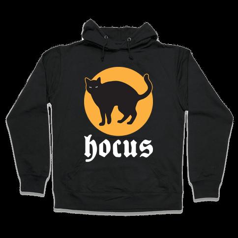 Hocus (Hocus Pocus Pair) - White Hooded Sweatshirt