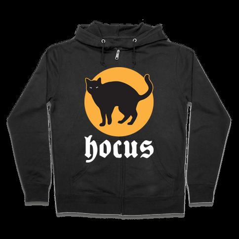 Hocus (Hocus Pocus Pair) - White Zip Hoodie